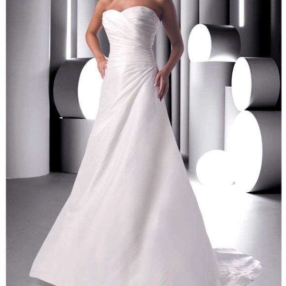 DaVinci Dresses | White Wedding Gown Style 8251 | Poshmark